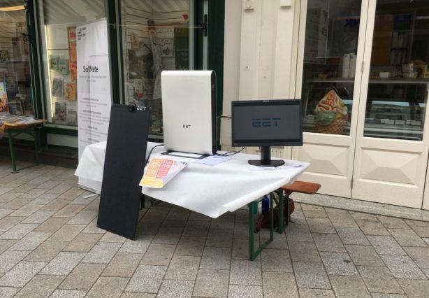 Ausstellung von Photovoltaikspeicher