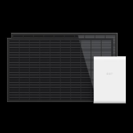 Stromspeicher für die Steckdose - Gartenkraftwerk von EET