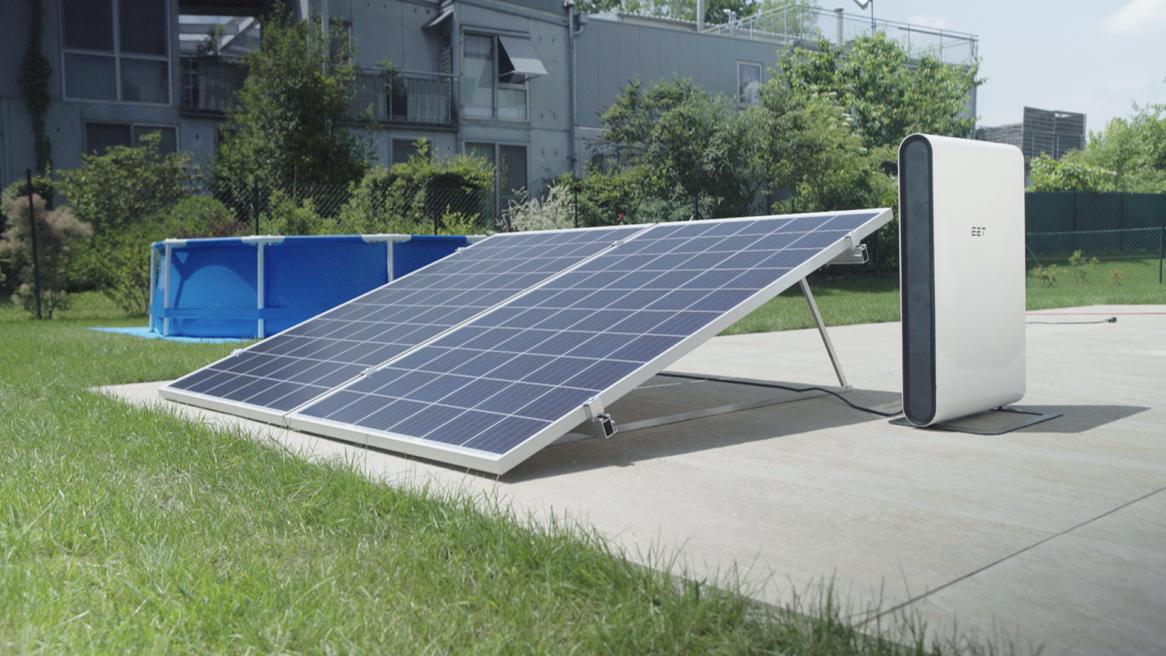 Photovoltaikanlage für den Garten von EET