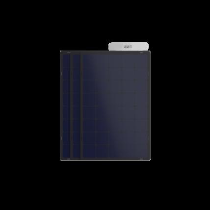 Photovoltaik Balkonkraftwerk mit extra Leistung für die Steckdose
