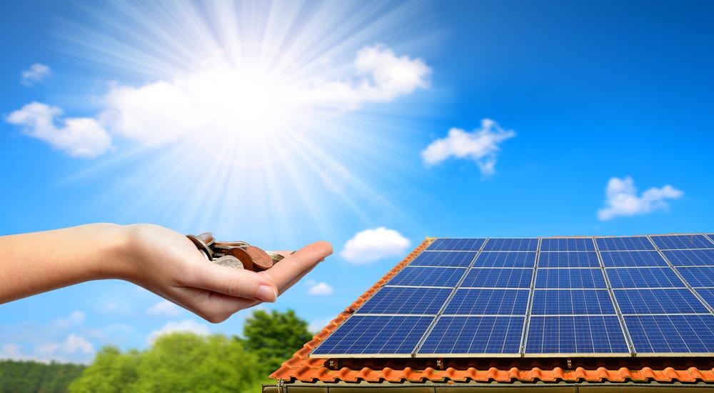 Strompreise senken mit der Solaranlage  SolMate von EET