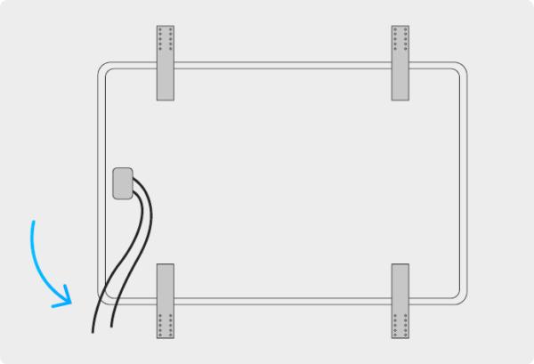 Photovoltaikpanel Verbindungskabel