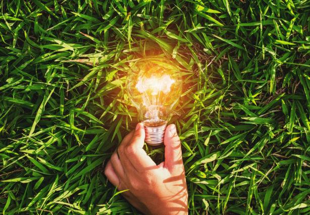 Erneuerbare Energien durch Photovoltaik