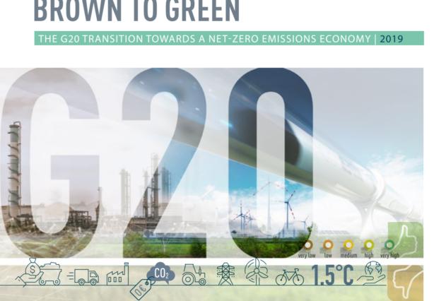 Der neue BROWN TO GREEN REPORT zeigt ein ernüchterndes Ergebnis. Die Kohlenstoff-Emissionen der G20 Staaten steigen, anstatt zu sinken.