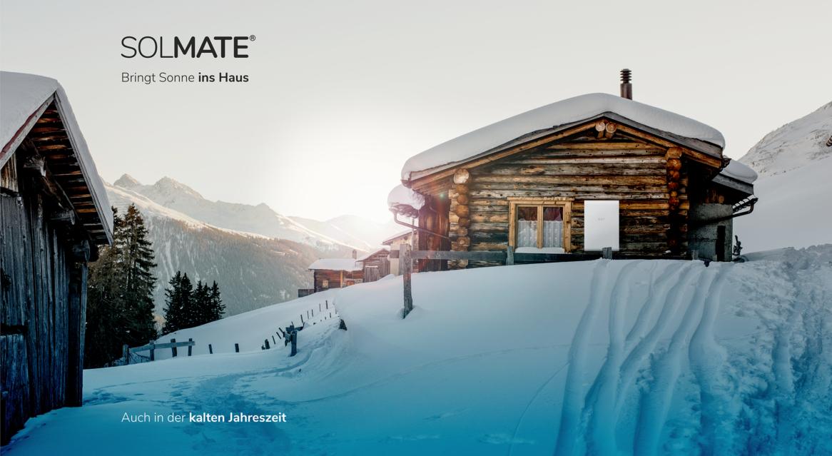 Deine Photovoltaik mit Stromspeicher kannst du auch auf deiner Berghütte verwenden