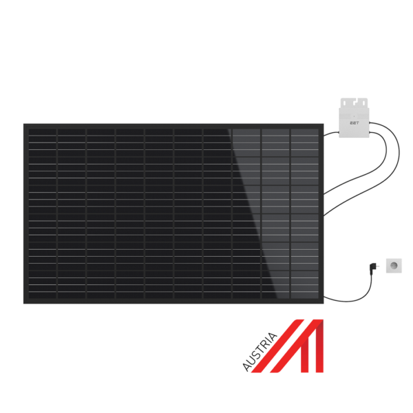Mate in Austria. Die Lightmate G Variante jedoch als Solaranlage von EET mit österreichischem Solarpanel