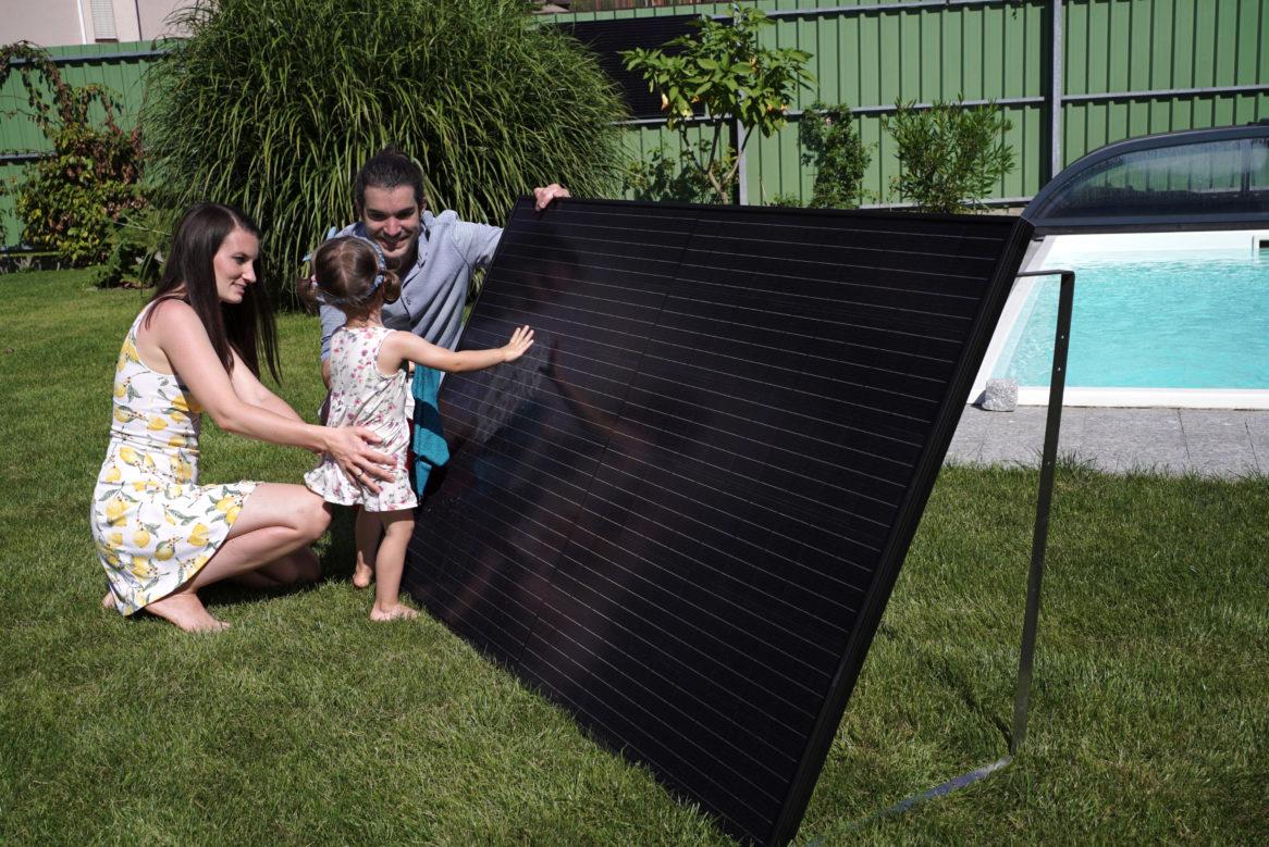 Die steckerfertige Photovoltaikanlage Lightmate G