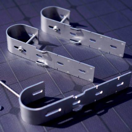 Balkonhaken für Solarmodule