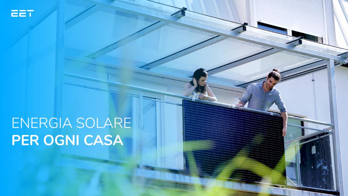 Questo accumulatore solare racchiude il successo di EET