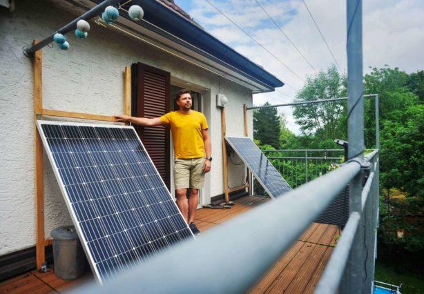 Mini-Solaranlage vor Gericht